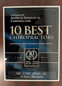 10 best chiropractors 2016 2018